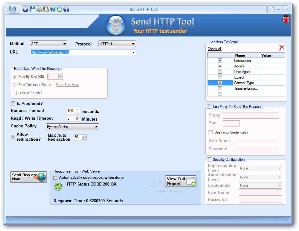 Download Send HTTP Tool 2 6 2