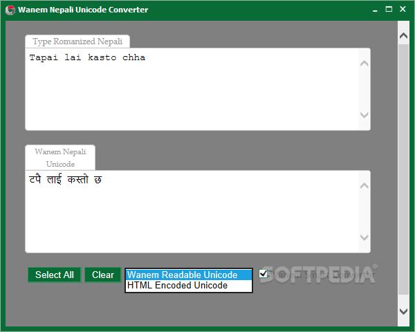 Download Wanem Nepali Unicode Converter 1 4