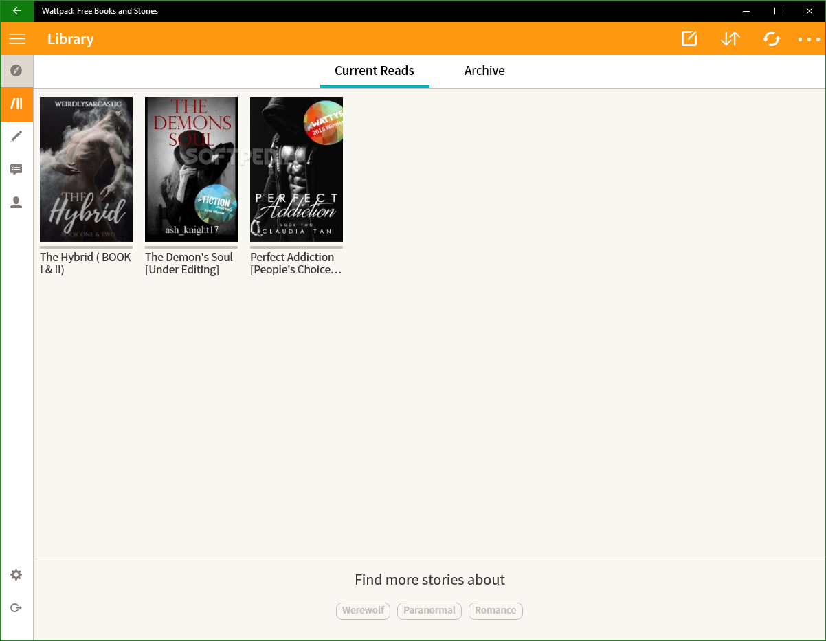Download Wattpad: Free Books and Stories 2 1 1 1367