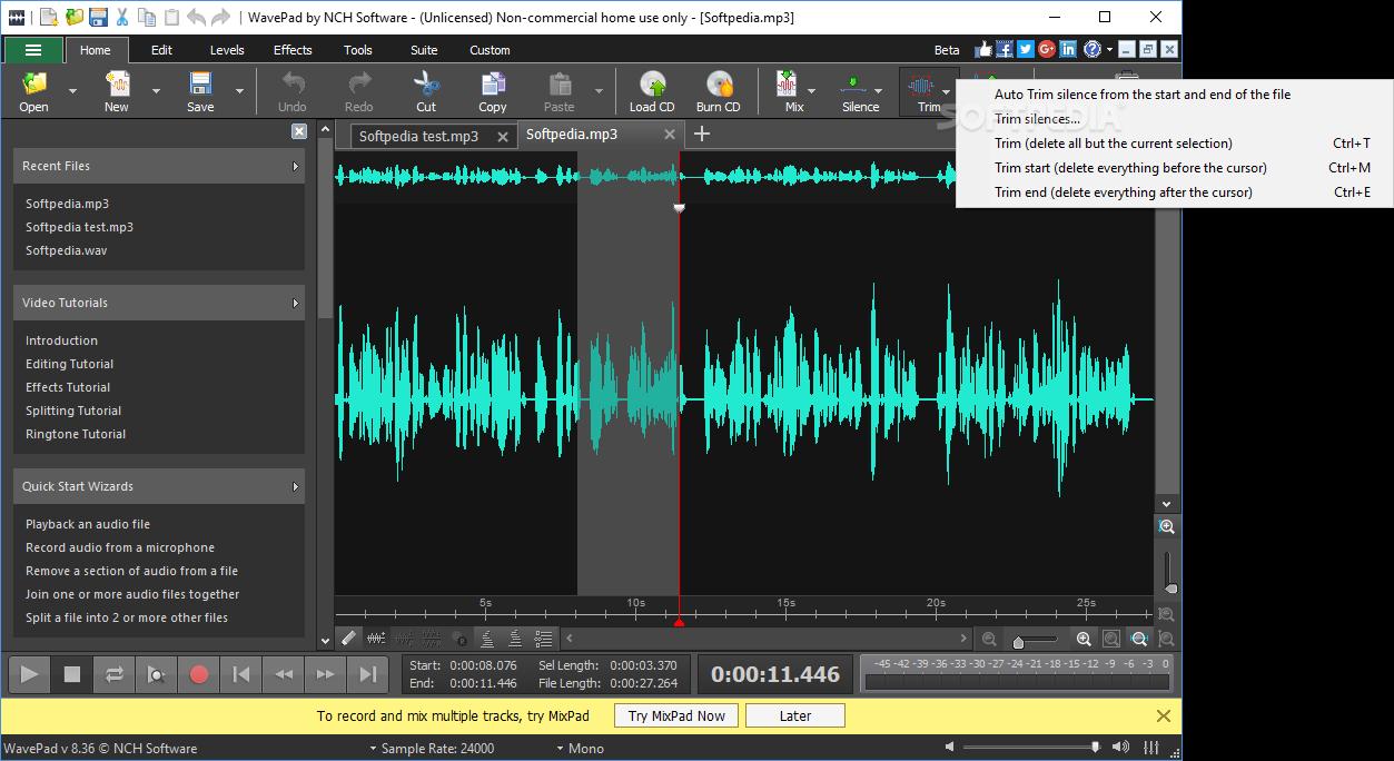 windows music editing software