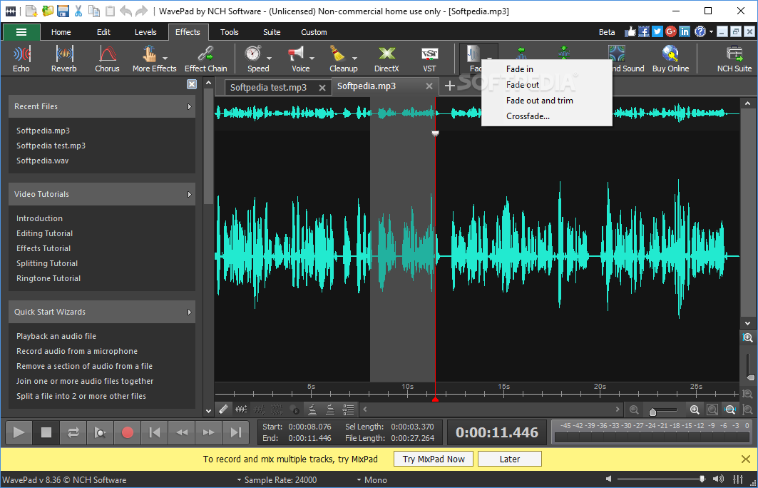 Music editor windows xp