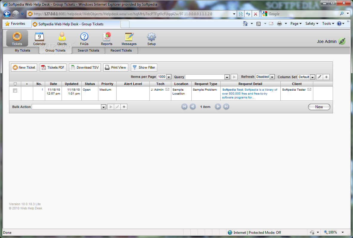 Download Web Help Desk Software Free 10 1 3 5