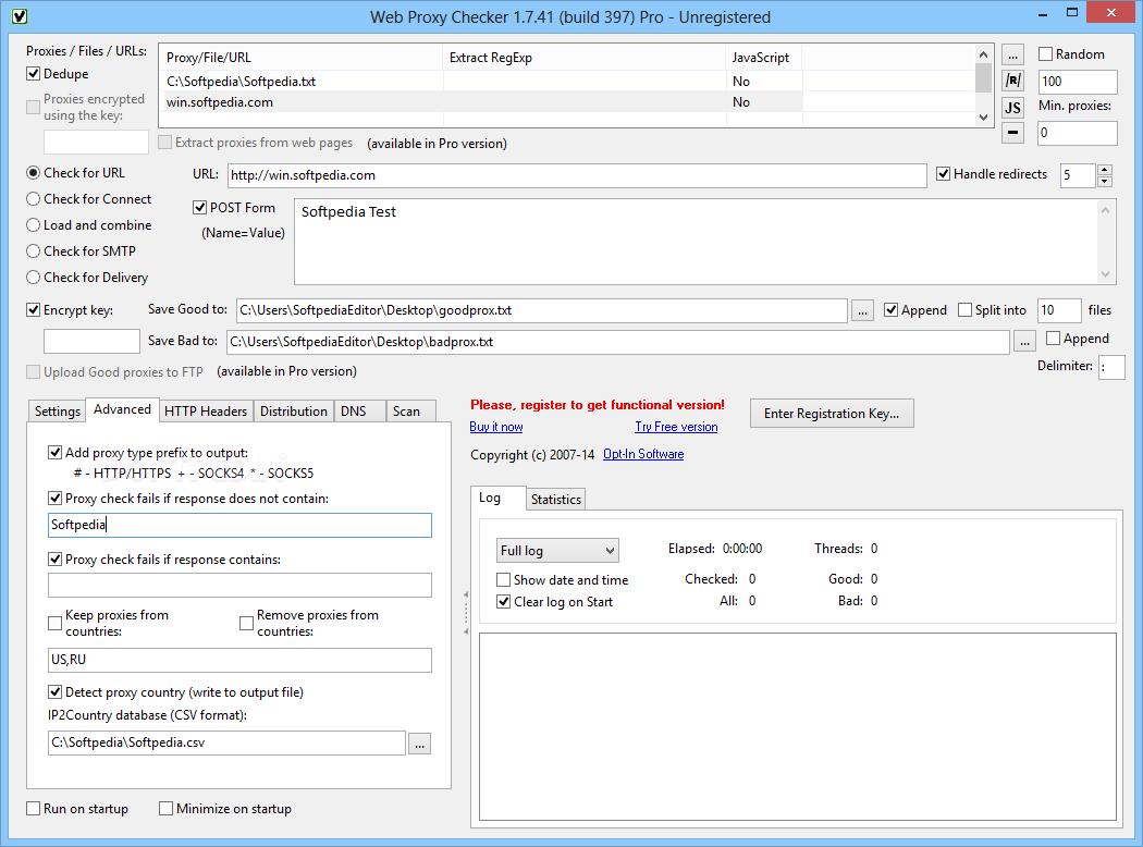 Download Web Proxy Checker Pro 1 8 55 Build 455