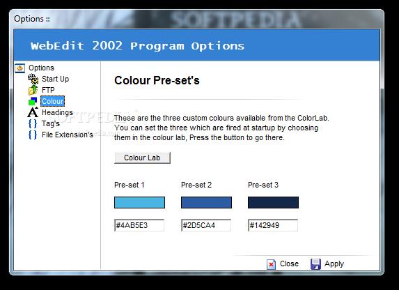 o webedit 2002