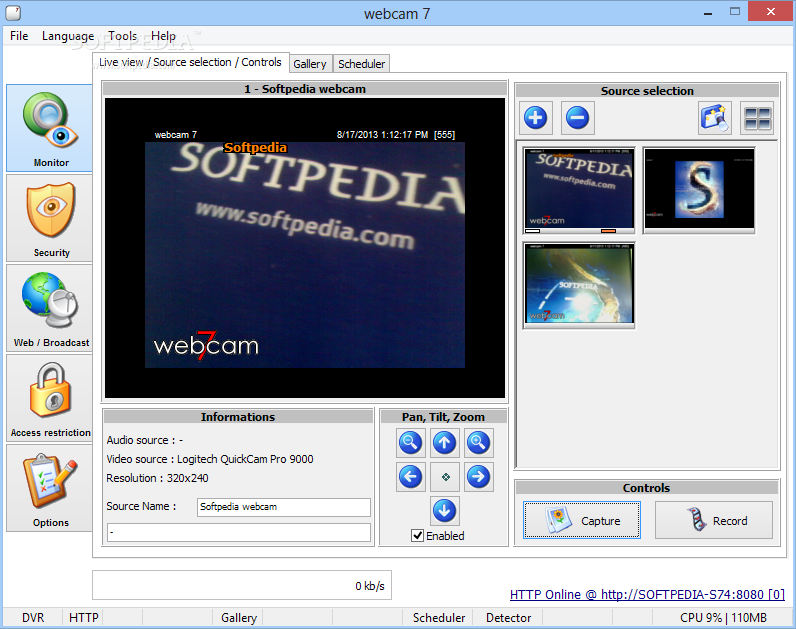 Free download web camera for windows 7