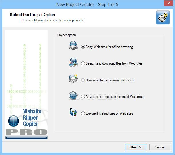 Download Website Ripper Copier PRO 5 6 3