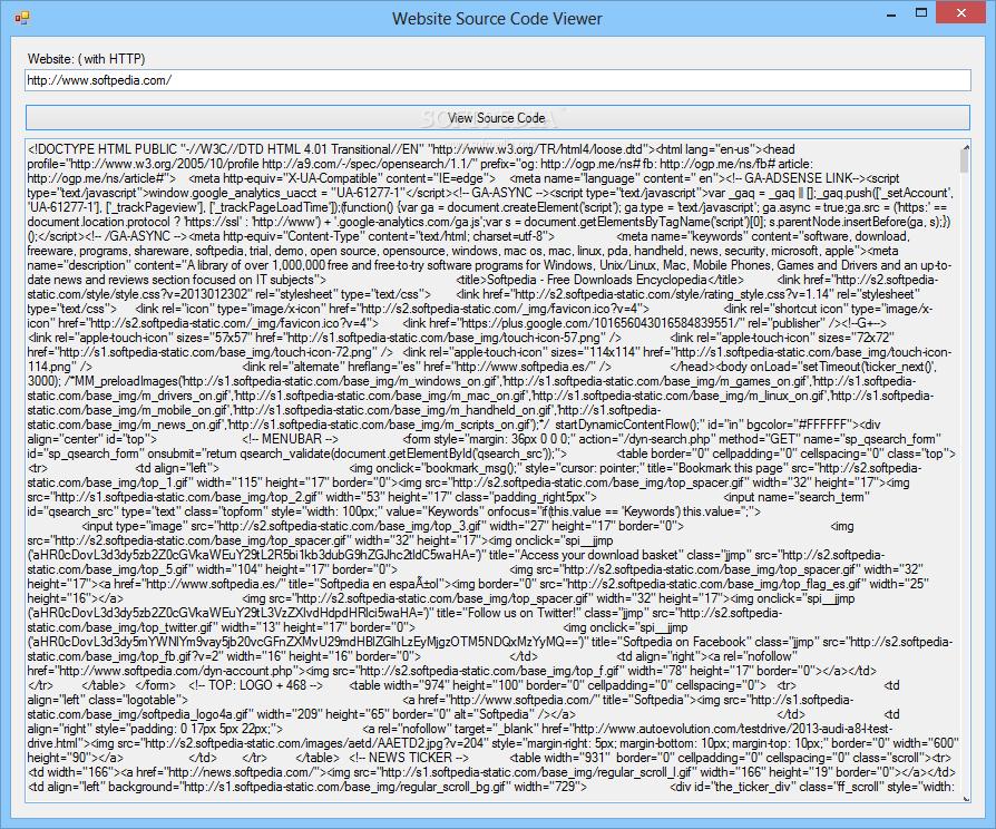 net framework 4.0_Download Website Source Code Viewer 1.0.0.0