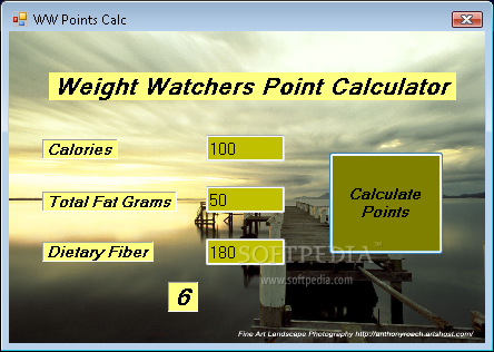 Weight watchers points plus calculator – restaurant list.
