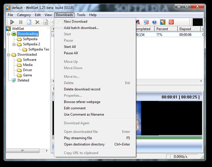 Download wellget 1. 25 build 0118 beta.