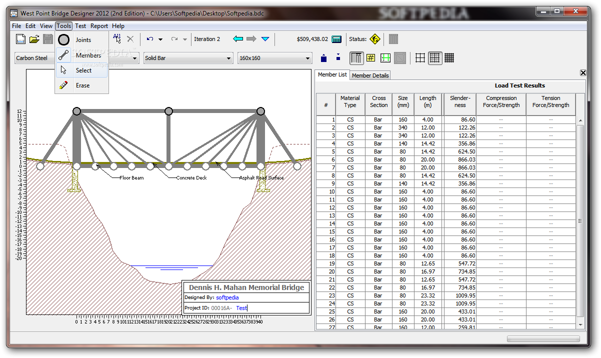 Download West Point Bridge Designer