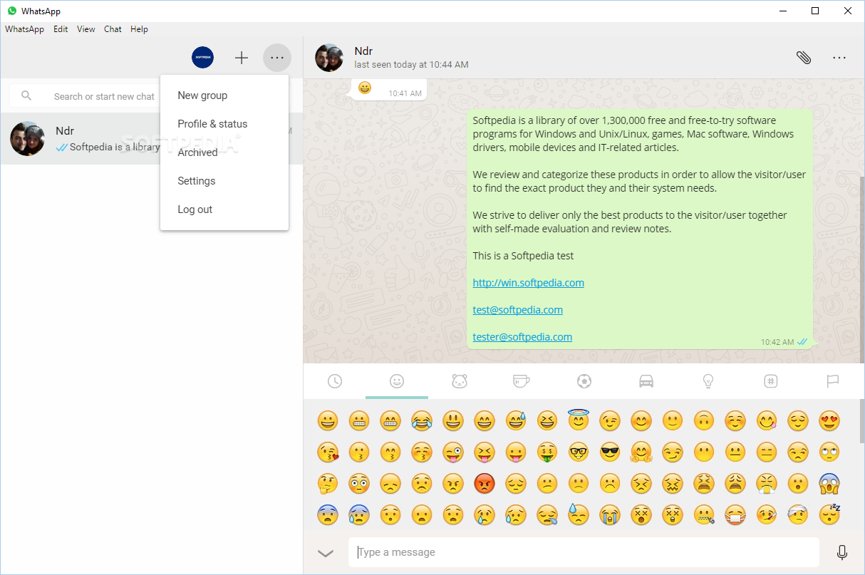 WhatsApp - It is possible to create a group chat, view your profile ...