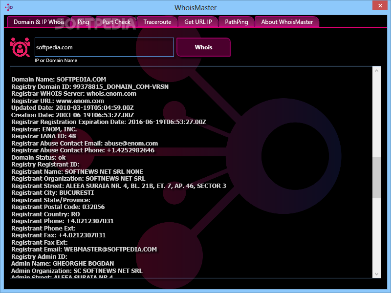Download Whois Master 2 0