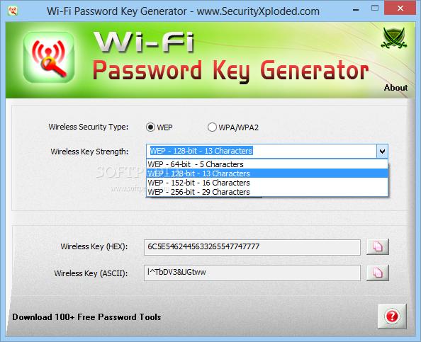 64 bit hexadecimal password generator