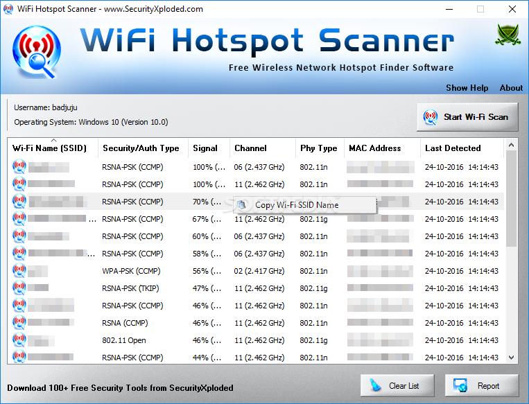 Download WiFi Hotspot Scanner 6 0
