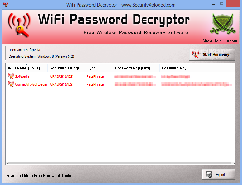 wifi password decryptor 1.5 gratuit