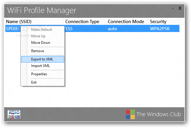 how to add wifi to profiles