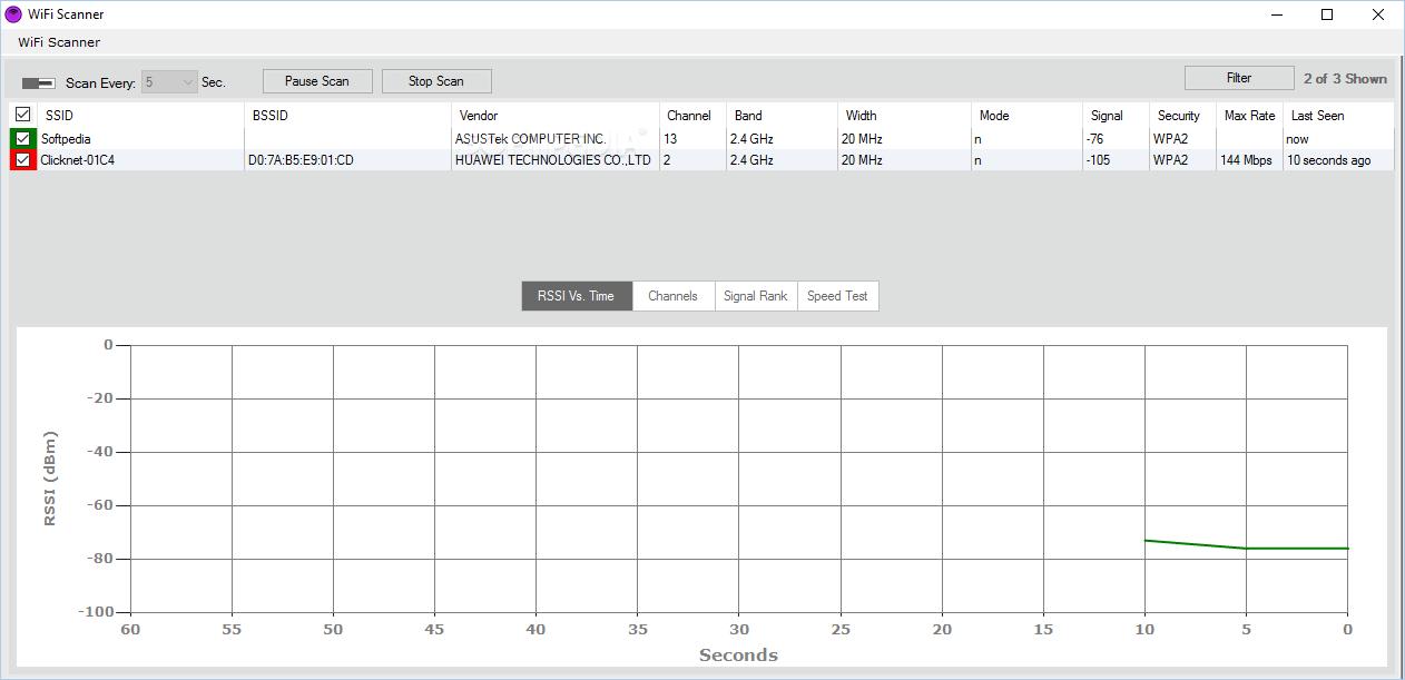 Download WiFi Scanner 0.8 (626)