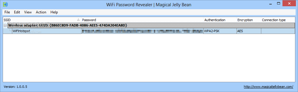 how to get wifi password on win 8