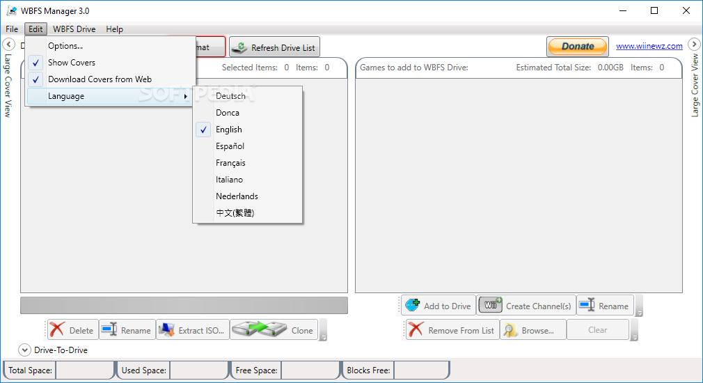 wbfs manager 32 bits gratuit