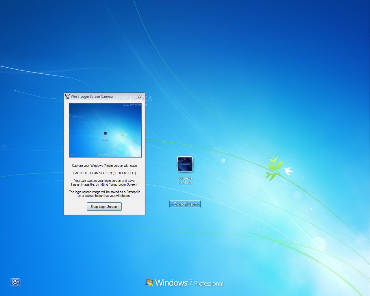 Download Win 7 Login Screen Camera 1 0 0 0