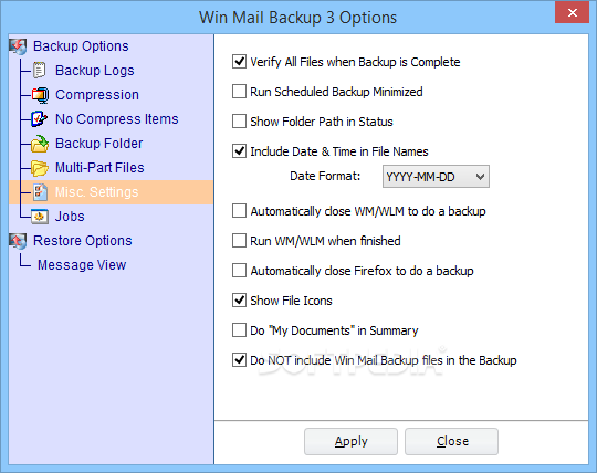 how to backup windows live mail contacts