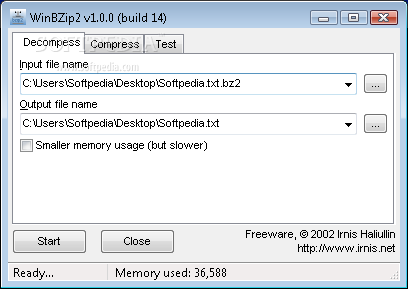 Download WinBZip2 1 0 0
