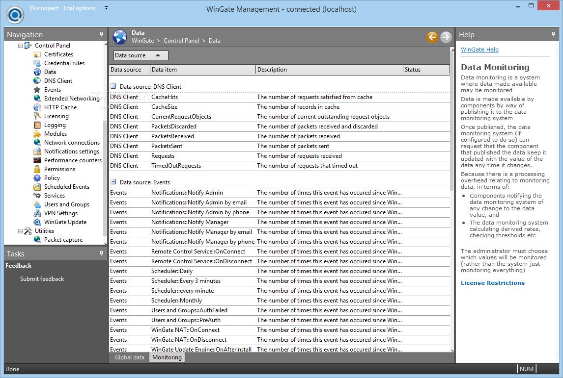 Download WinGate 9 4 0 Build 5993