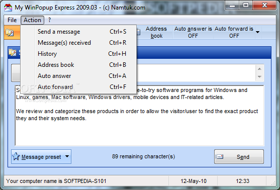 Download My WinPopup Express 2009 03