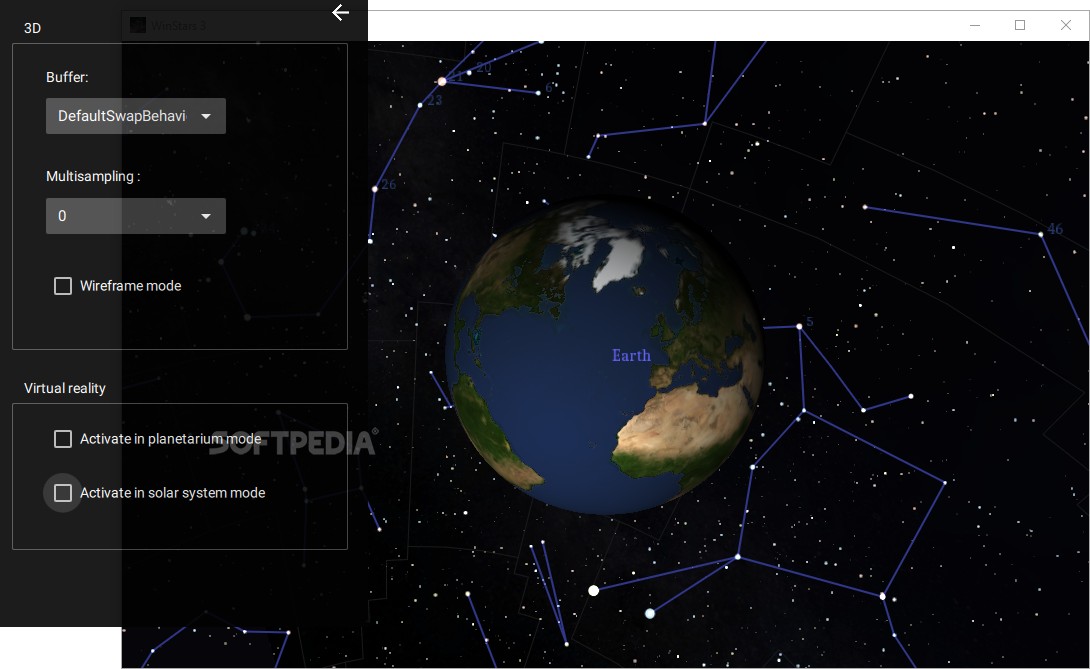 Download WinStars Build - Solar system map 3d