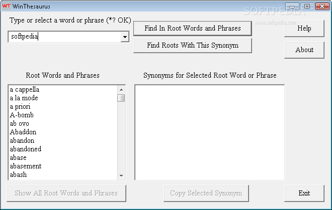 Download WinThesaurus 1 4