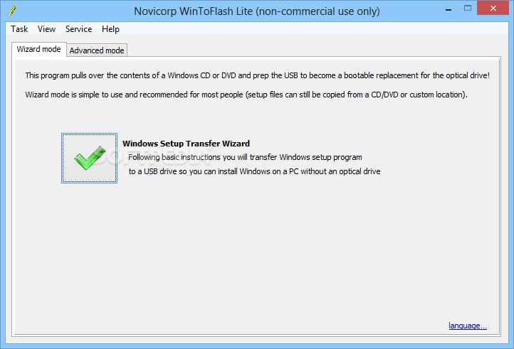 novicorp win to flash 0.7.0018 beta