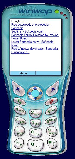 Download WinWAP Smartphone Browser Emulator 1 3 0 2