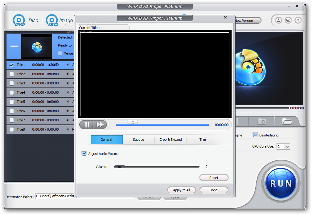 Download WinX DVD Ripper Platinum 8 9 2 Build 20190619