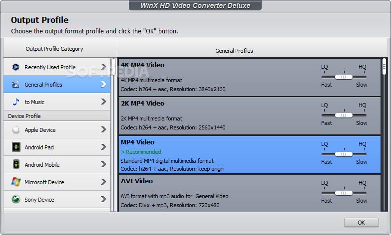 Download WinX HD Video Converter Deluxe 5 15 3