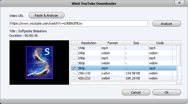 Download WinX YouTube Downloader 5 2