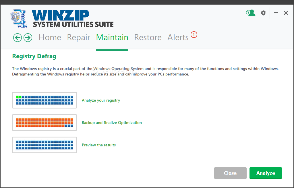 WinZip System Utilities Suite screenshot 11