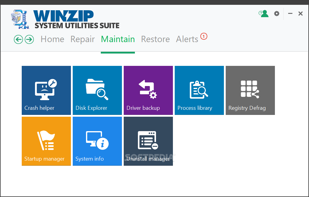 WinZip System Utilities Suite screenshot 6
