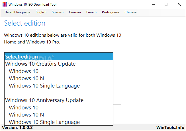 windows 10 home single language 64 bits español iso