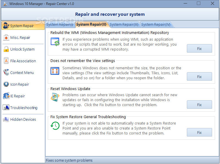Download Windows 10 Manager 3 1 3