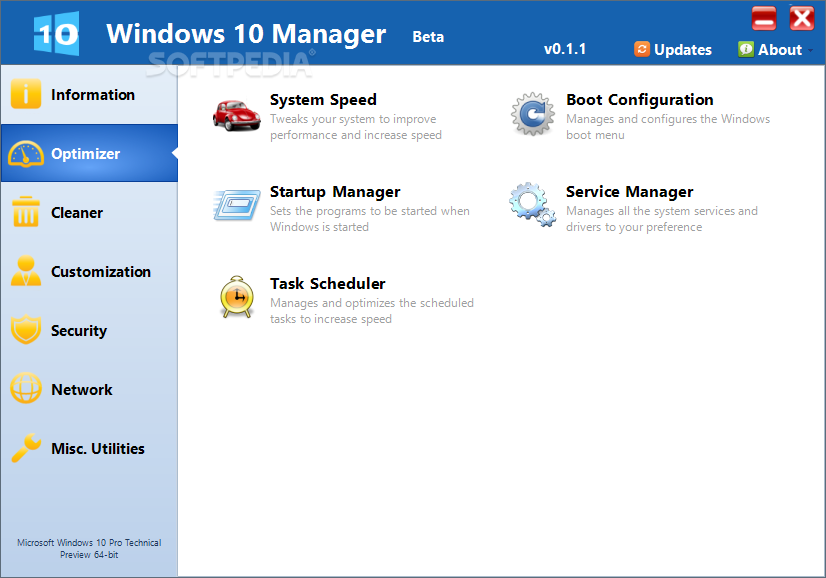 Download Windows 10 Manager 3 1 4