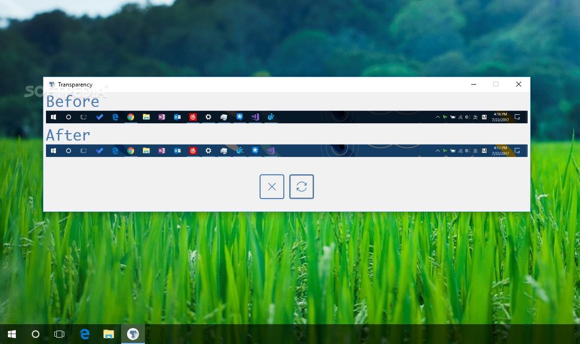 Download Windows 10 Taskbar Transparency 1 0 0 0