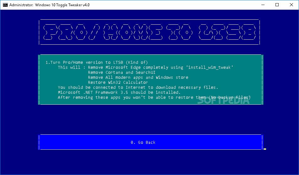 Download Windows 10 Toggle Tweaker 4 0