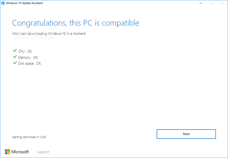 Download Windows 10 Upgrade Assistant 1 4 9200 22256