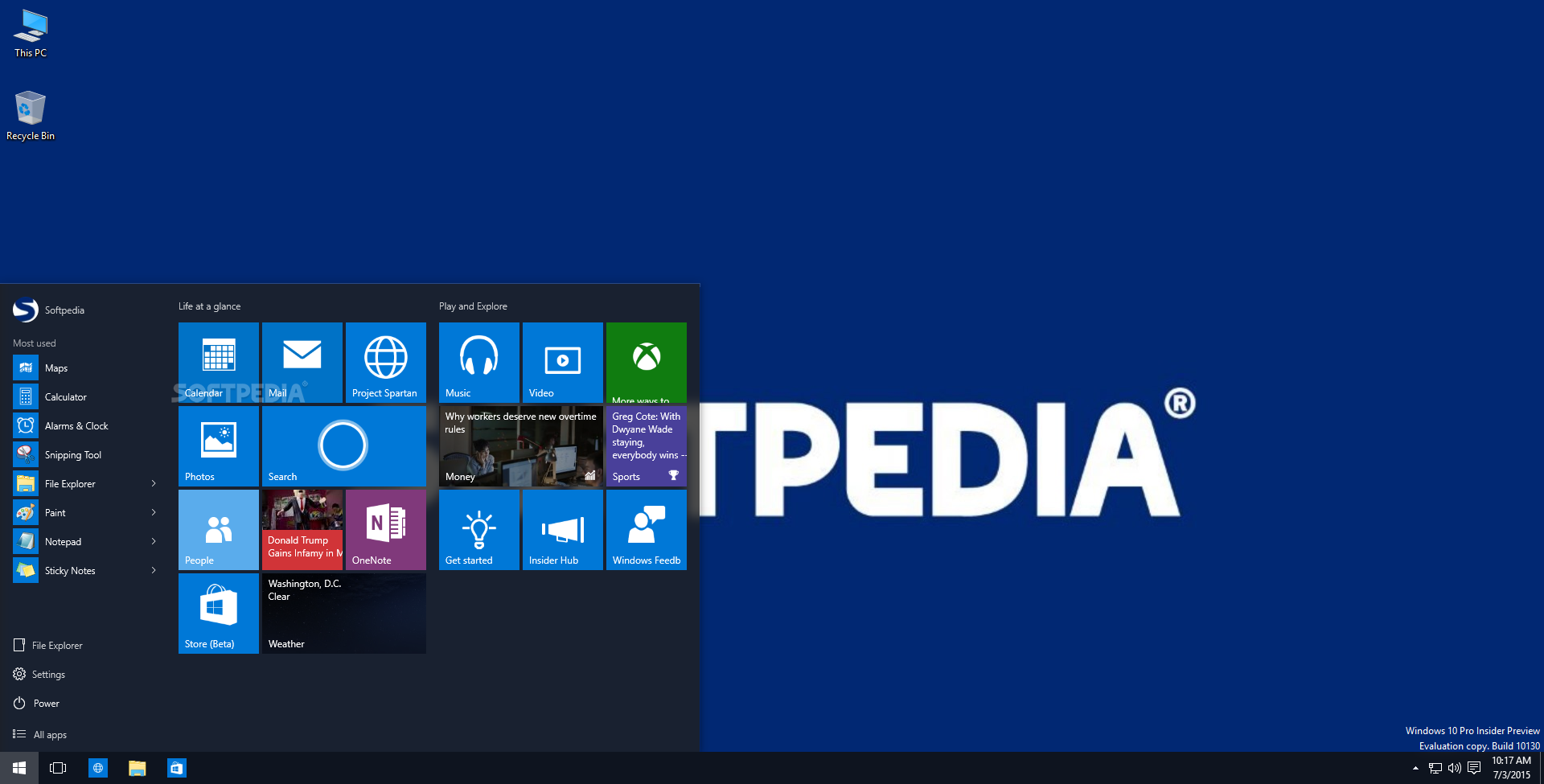 Download Windows 10 1903 Build 18362 30 May 2019 Update