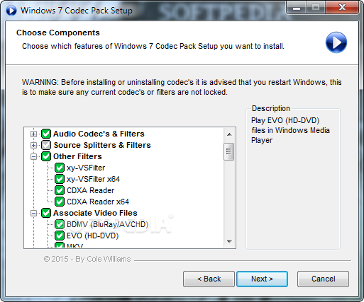 PACK PLAYER CODEC 4.2.6 MEDIA TÉLÉCHARGER