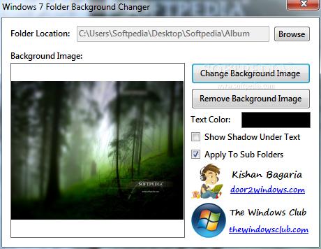 Download Windows 7 Folder Background Changer 11