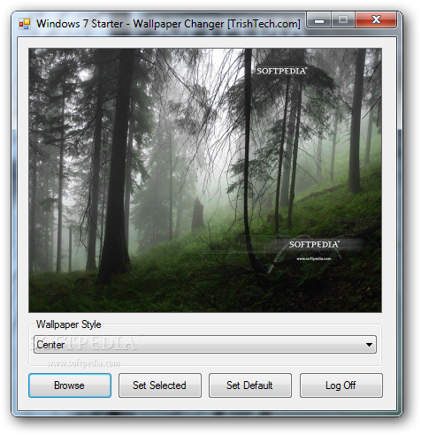 Download Windows 7 Starter Wallpaper Changer