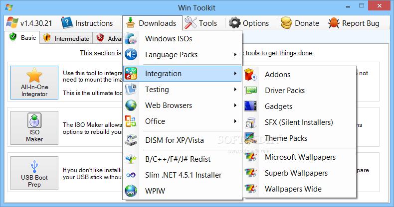 Download Win Toolkit 1 7 0 0 / 2 0 6276 30646 Test Build