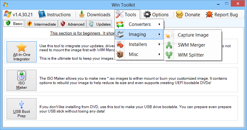 Download Win Toolkit 1 7 0 0 / 2 0 6276 30646 Test Build