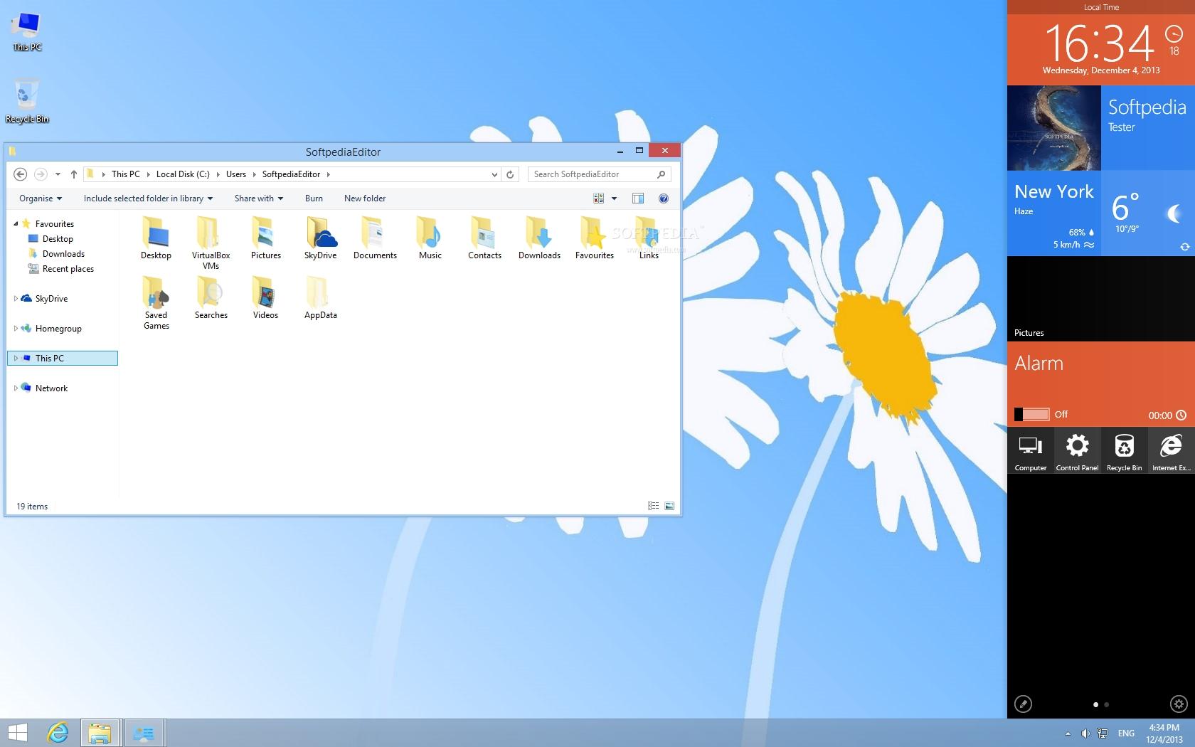 Windows 8.1 skin pack for xp